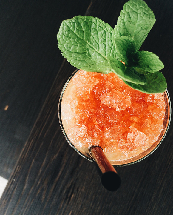Central Standard Swizzle. | Photo by Emma Janzen.