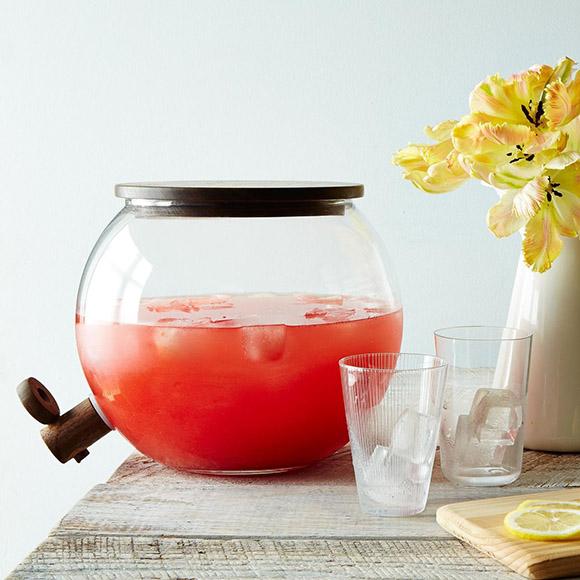 Handblown Glass Drink Dispenser from Food52, $170
