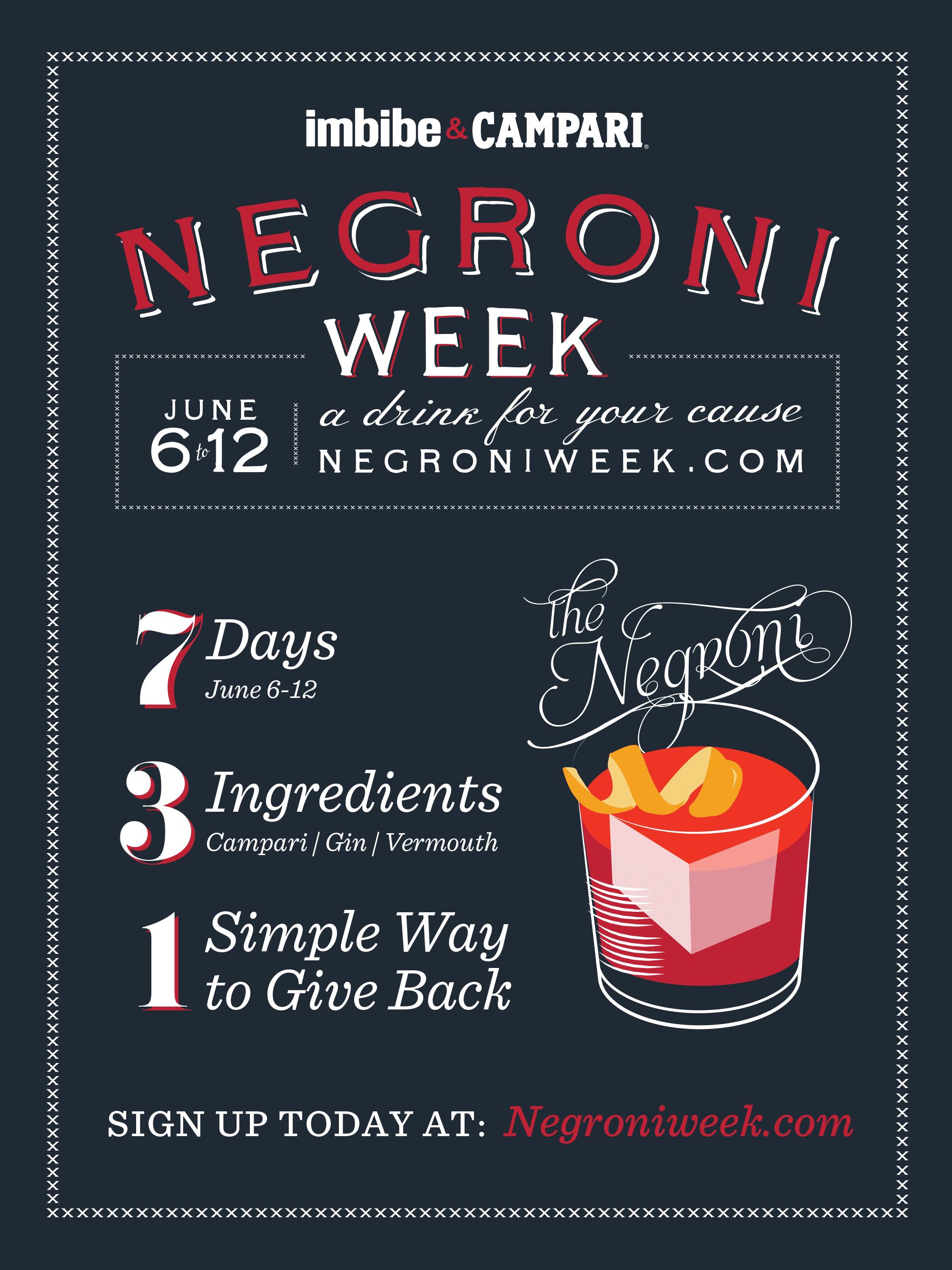 negroni week is here