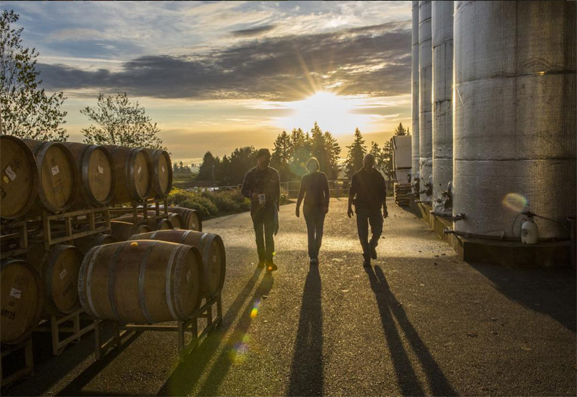 Sokol Blosser's engaging feed mixes behind-the-scenes winemaking and staff trips from Oregon and around the country. | Follow them @sokolblosser.