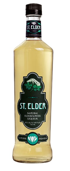 St. Elder Natural Elderflower Liqueur, $20