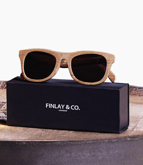 Glenmorangie Originals Whisky Barrel Sunglasses.