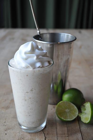 Key Lime Pie Milkshake. | Photo courtesy West Egg.