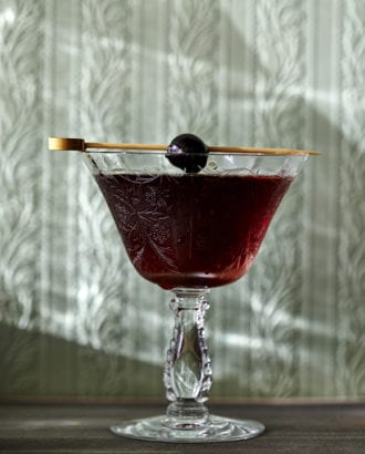 black manhattan recipe
