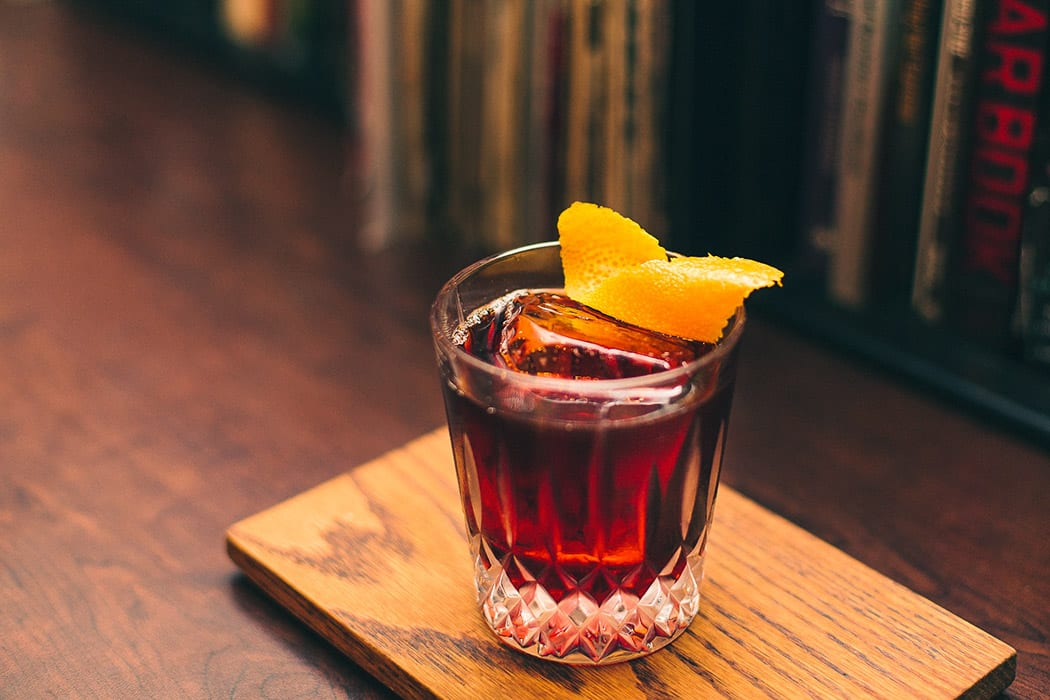 cold-brew coffee negroni