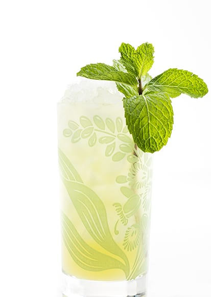 Chartreuse Swizzle. | Photo by Lara Ferroni.
