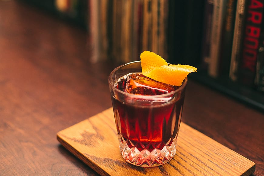 Cold-Brew Coffee Negroni. | Photo by Edd Siu.