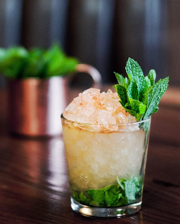 Beer Julep. | Photo courtesy of Sycamore Den.