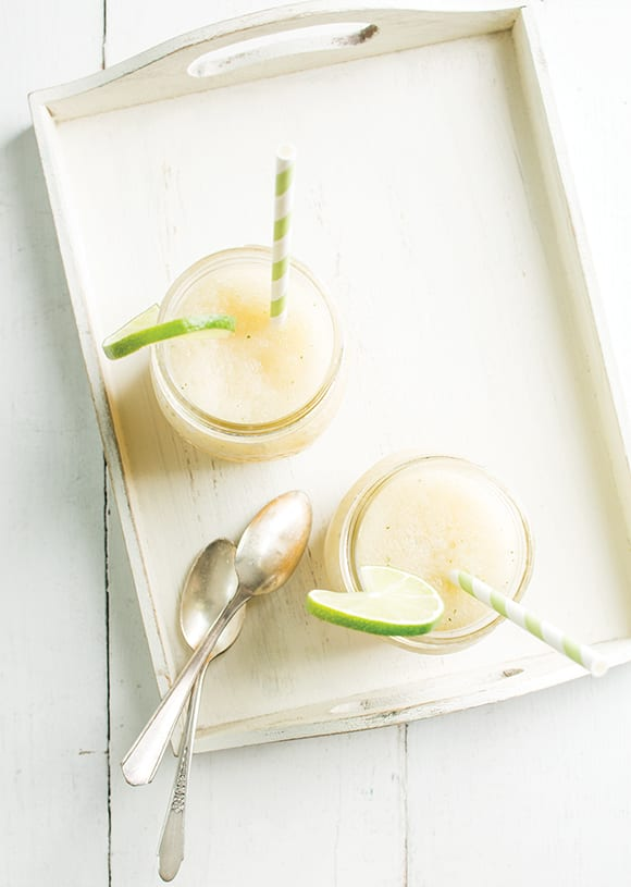 Extra Fancy's Frozen Gin & Tonic is made with tonic syrup and cooling cucumber. | Photo by Lara Ferroni.