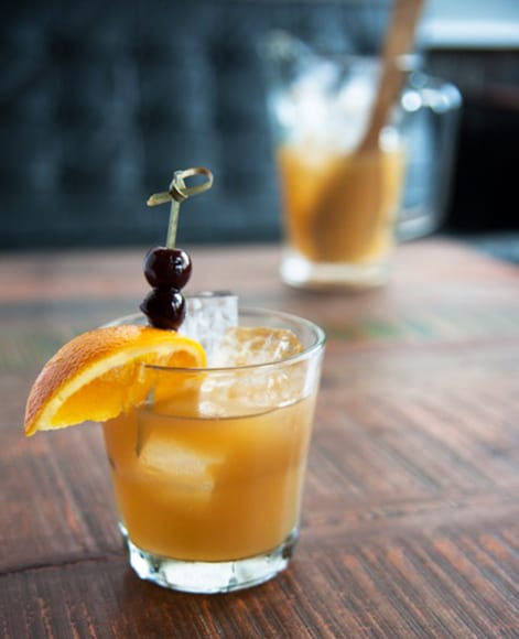 Spring Street Swizzle.   Photo by Victoria Parmenter.