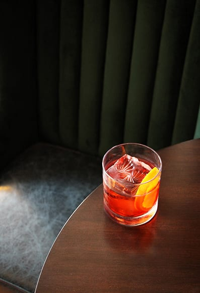 During this year's Negroni Week, the special cocktail included a tequila infused with gin botanicals and barrel-aged.