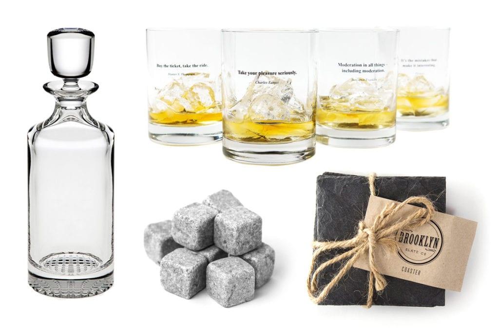 Huckberry Whiskey Survival Kit