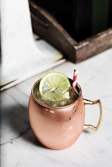 Moscow Mule. | Photo by Dylan and Jeni.