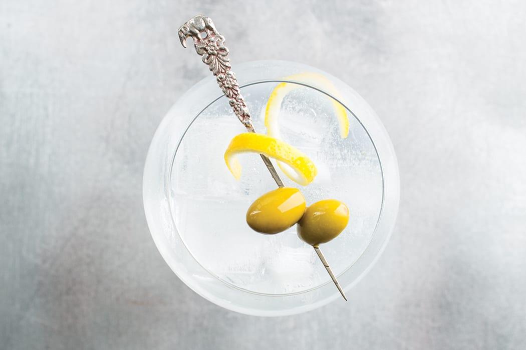Simon's Gin & Tonic. | Photo by Lara Ferroni.