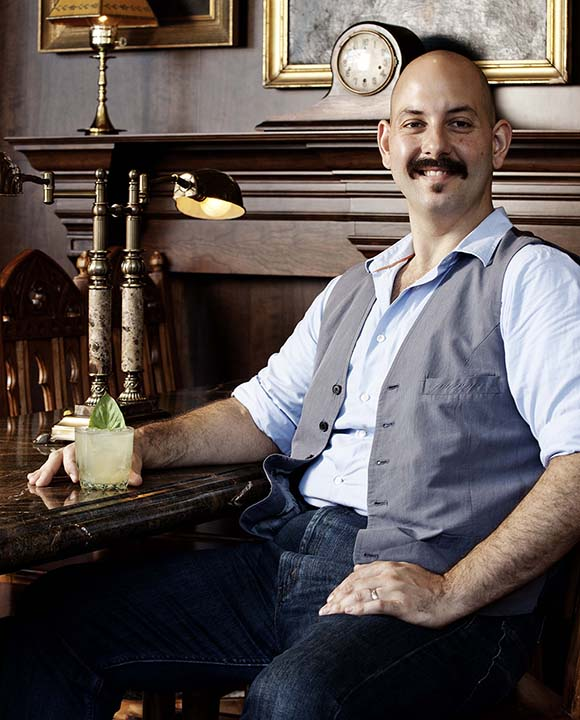 Beverage director Anthomy Schmidt joins False Idol after being general manager and head bartender at Noble Experiment.   Photo by John Dole.