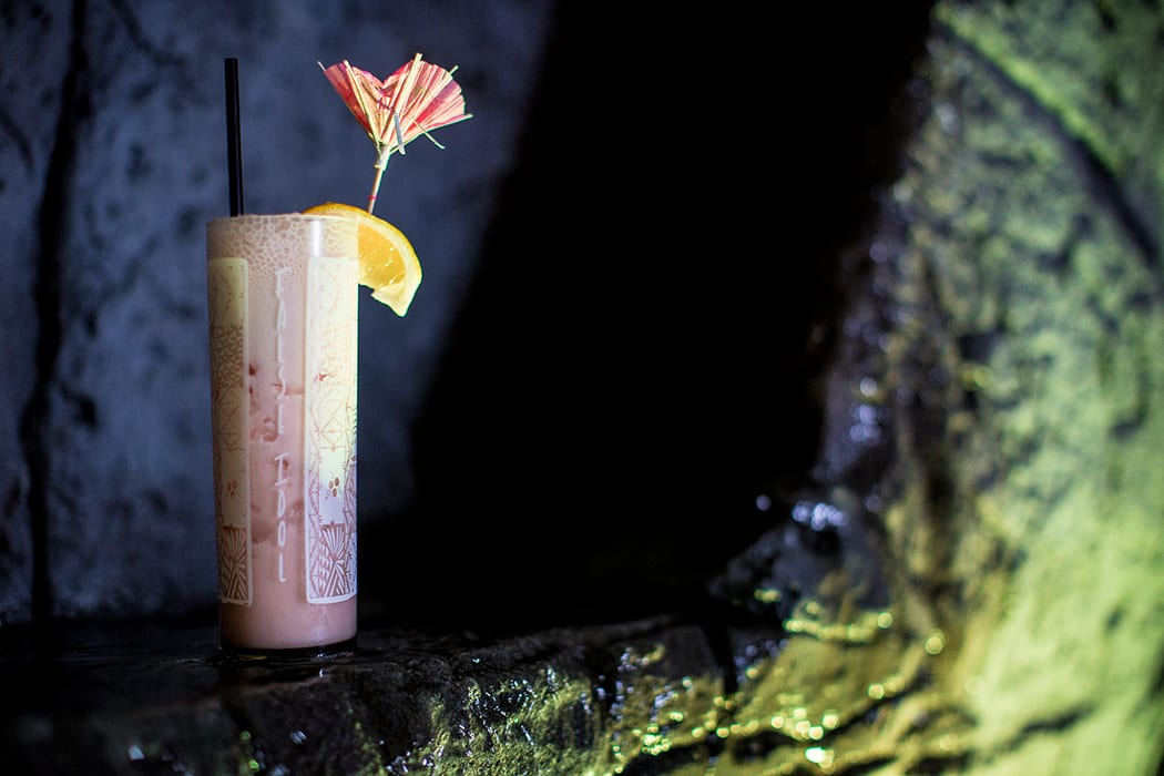 Dating back to the 1970s, the Trade Winds combines aged and black rums, coconut cordial, lemon juice and apricot liqueur. | Photo by Arlene Ibarra.