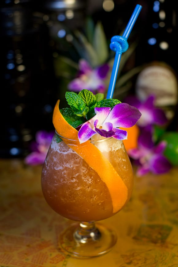 The Coronado Luau Special is one of several drinks included on the menu as a nod to San Diego's former tiki bars. | Photo by Arlene Ibarra.