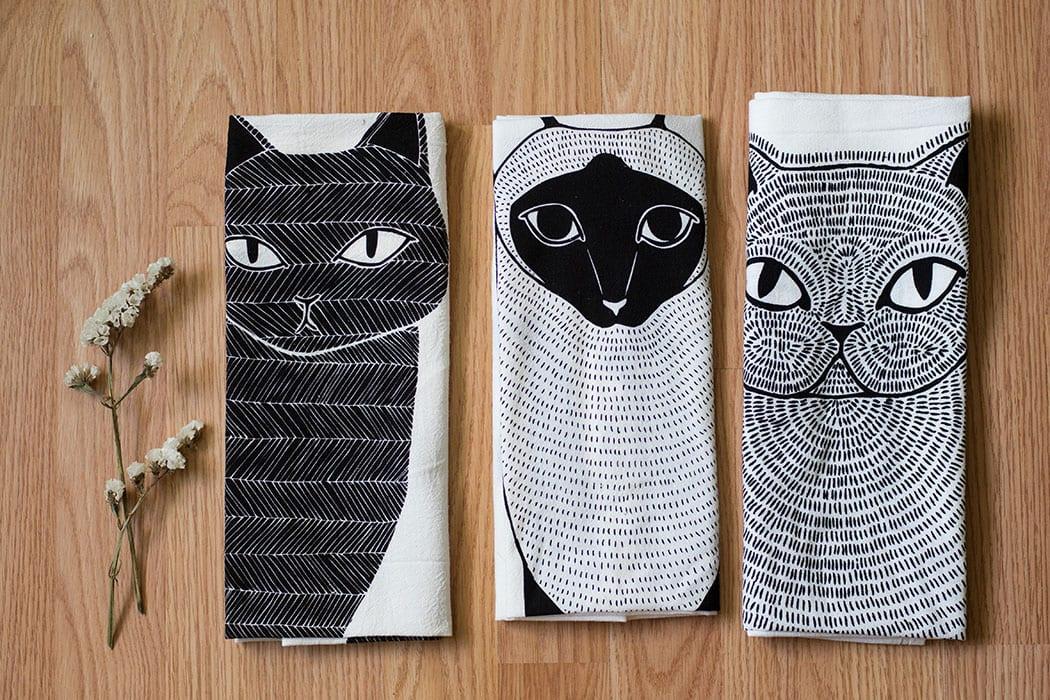 Gingiber Tea Towels. | $18, gingiber.com