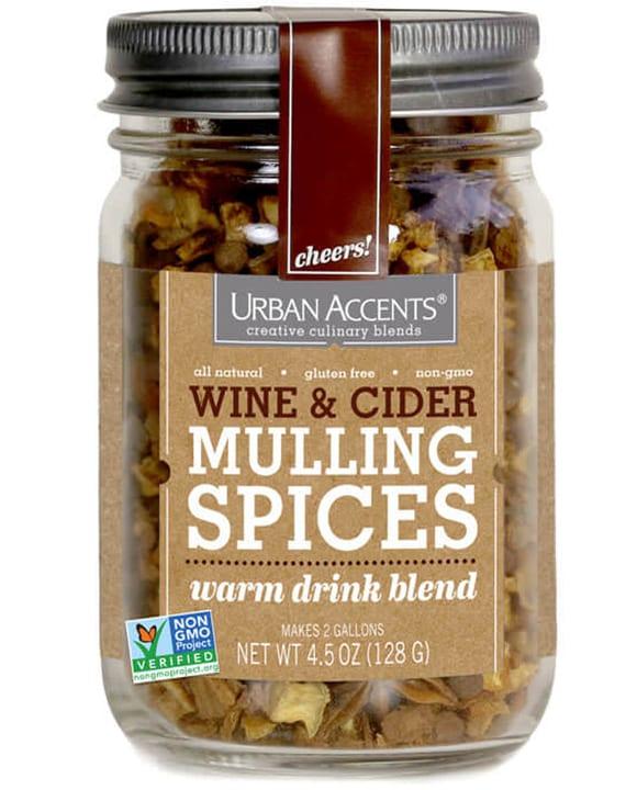 Urban Accents Cider Mulling Spice. | $10, urbanaccents.com