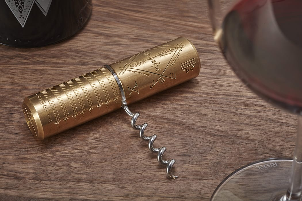 SAVED Wines Corkscrew by Scott Campbell. | $125, shinola.com