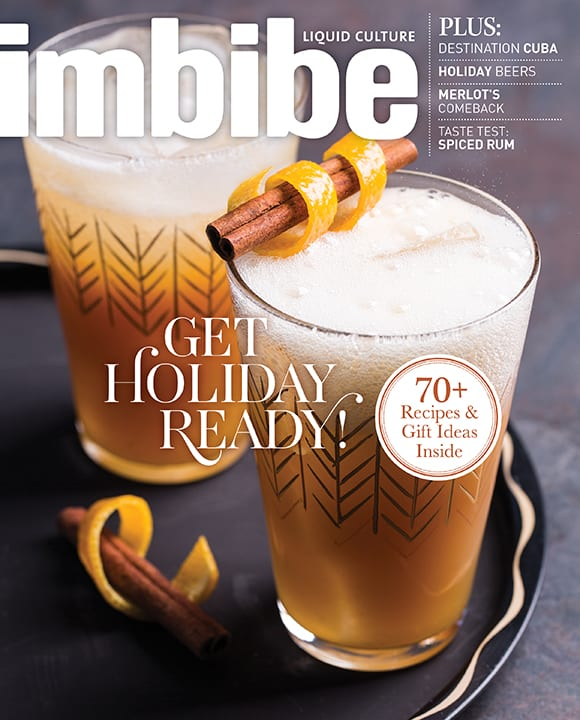 Imbibe Magazine Nov / Dec 2016 Issue