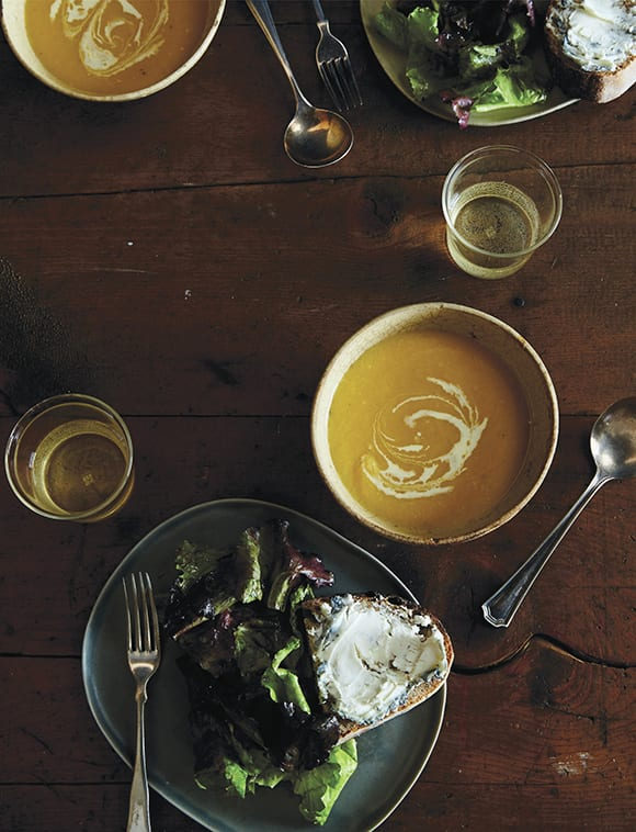 Creamy Butternut Squash Soup with Sherry. | Photo by James Ransom.