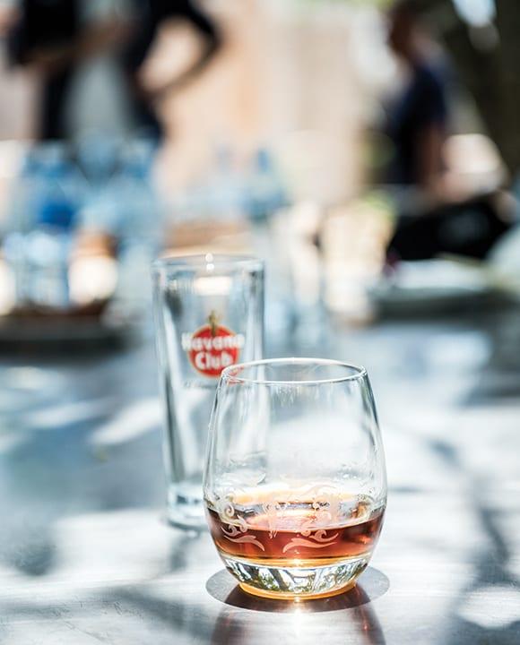 Havana Club rum is Cuba's primary export brand.