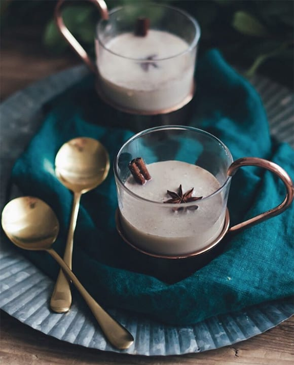 San Francisco developer, stylist and writer Ashley Conway has an eye for a good cocktail setup, as these hot buttered rums show. Follow her at @ashroseconway.