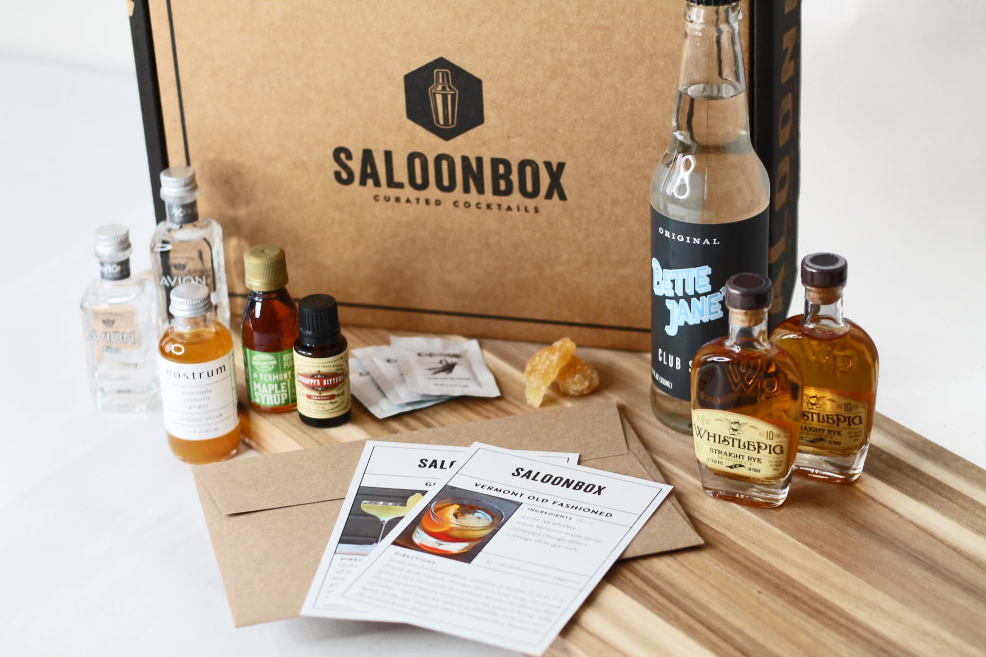 SaloonBox Curated Cocktails. | $38, saloonbox.com