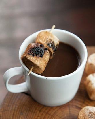ancho chili hot chocolate