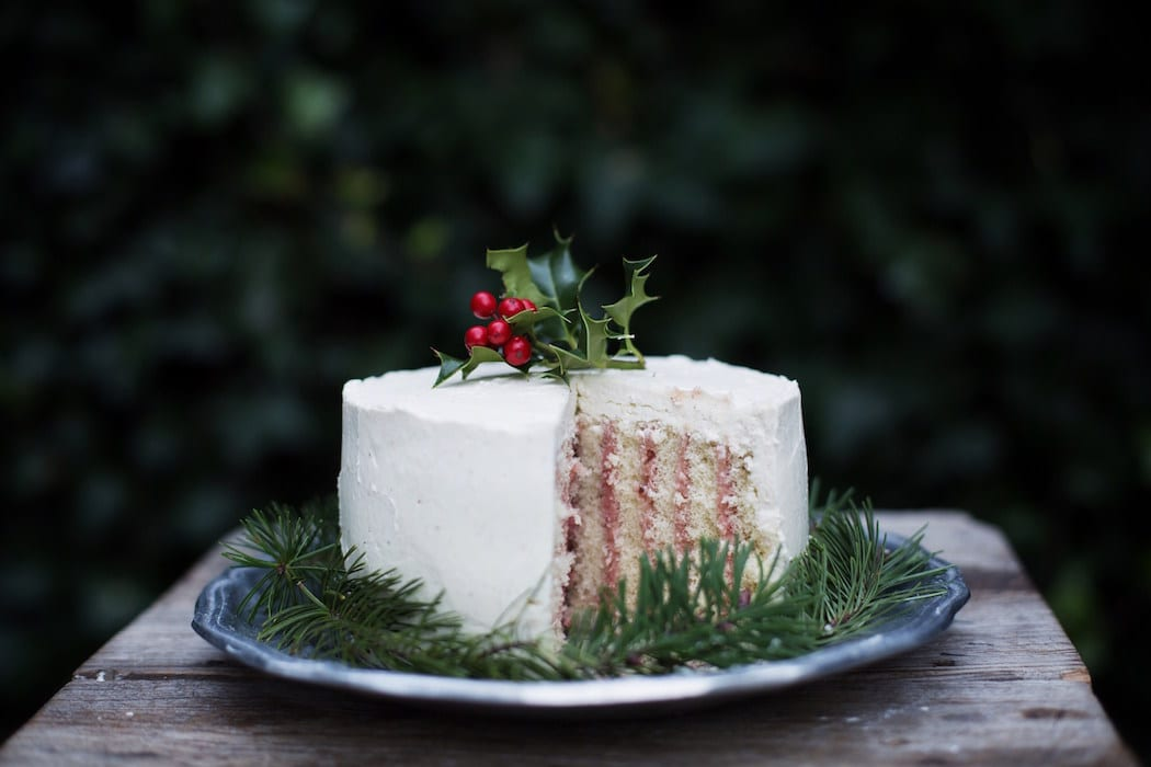 Cranberry Eggnog Cake. | Photo by Tiffany Howard Web.