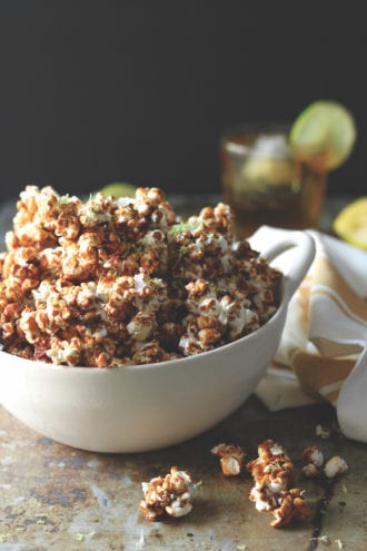 dark and stormy kettle corn