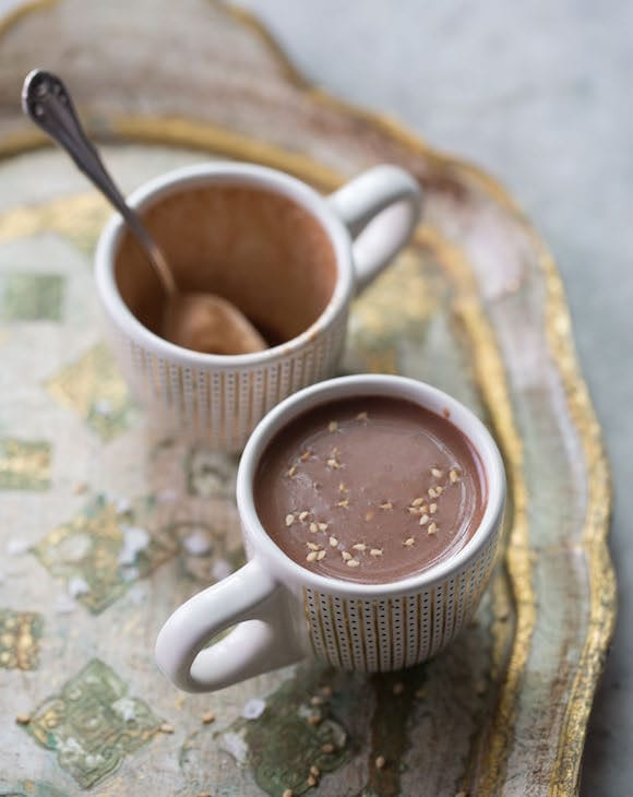 Tahini Hot Chocolate. | Photo by Kristin Teig.
