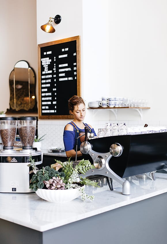 Coffee Bar of the Year, Methodical Coffee in Greenville, South Carolina. | Photo by Paige French.