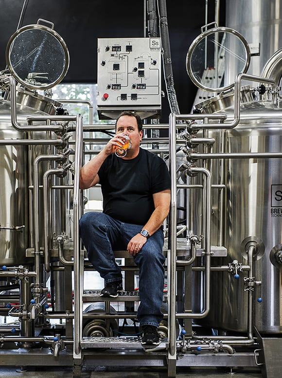 Beer Person of the Year, Mitch Steele (formerly of Stone Brewing). | Photo by Gary Allard.