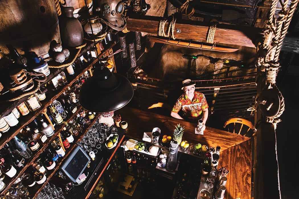 Bartender of the Year, Steven Liles of Smuggler's Cove in San Francisco. | Photo by Carolyn Fong.