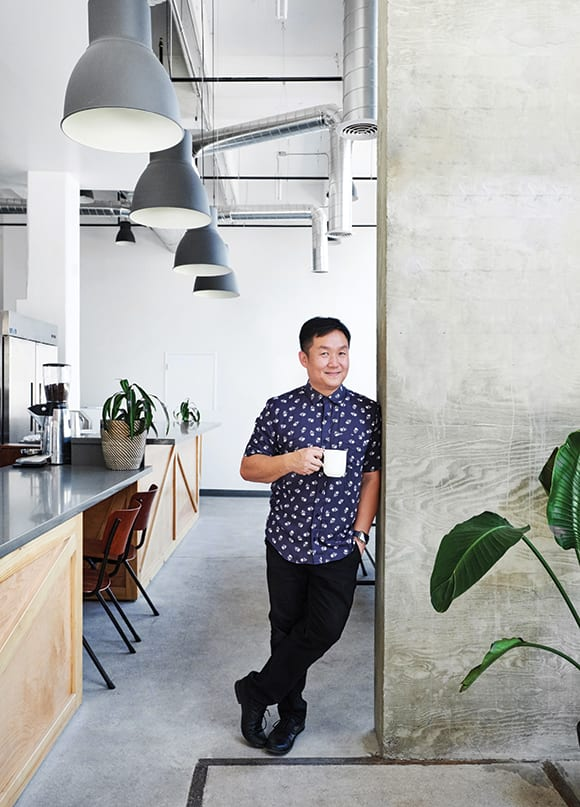 Yeekai Lim, founder of Cognoscenti Coffee. | Photo by Dylan + Jeni.
