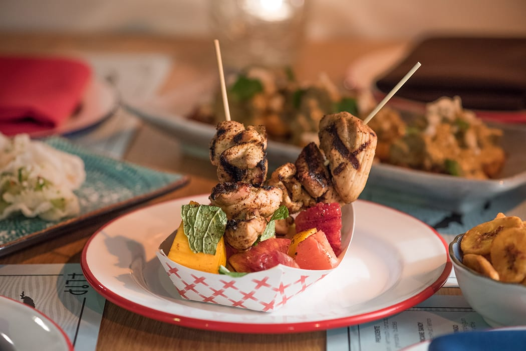 Jerk chicken brings a taste of the tropics to the Flip Flop pop-up.
