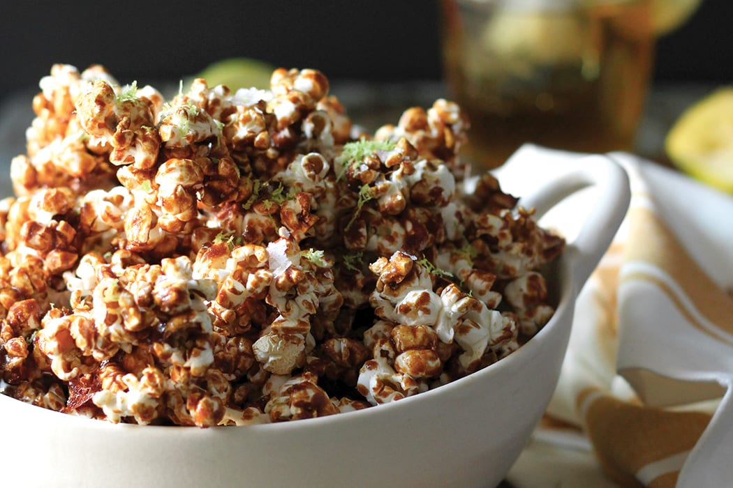 Dark and Stormy Kettle Corn is sweet, crunchy, salty, sour—perfect for happy hour.