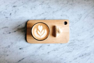 Presentation in everything at Methodical. This is their mocha with a toasted marshmallow. | Photo by Haley Newman