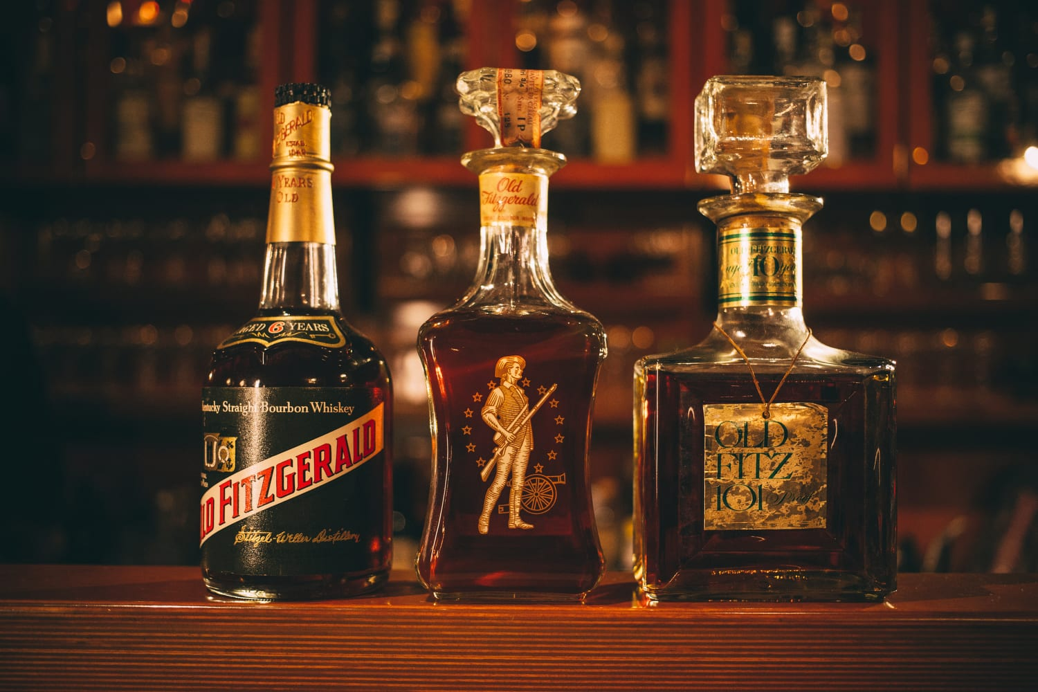 Rare and vintage spirits are the main draw for the bar.