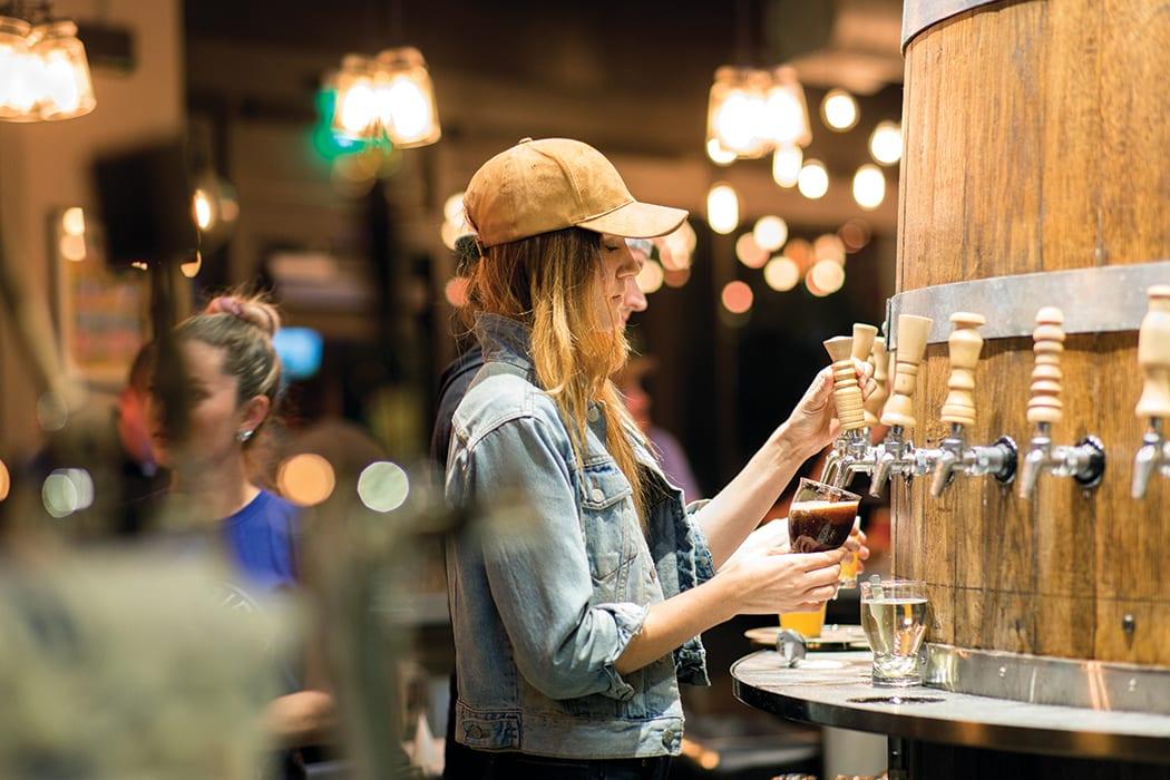 Tulsa's Prairie Brewpub is our Beer Bar of the Year.   Photo by Mark Jackson Chroma.