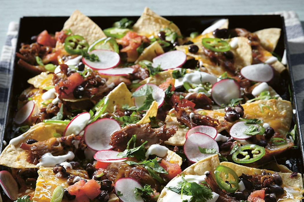 Duck Carnitas Nachos. | Photo by John Lee.