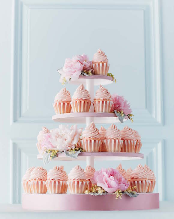 Pink Champagne Cupcakes. | Photo by Ryan Szulc.