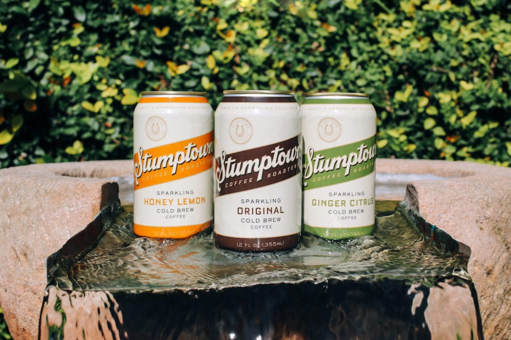 stumptown sparkling cold brew