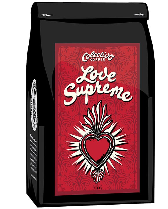 Colectivo Coffee Love Supreme.