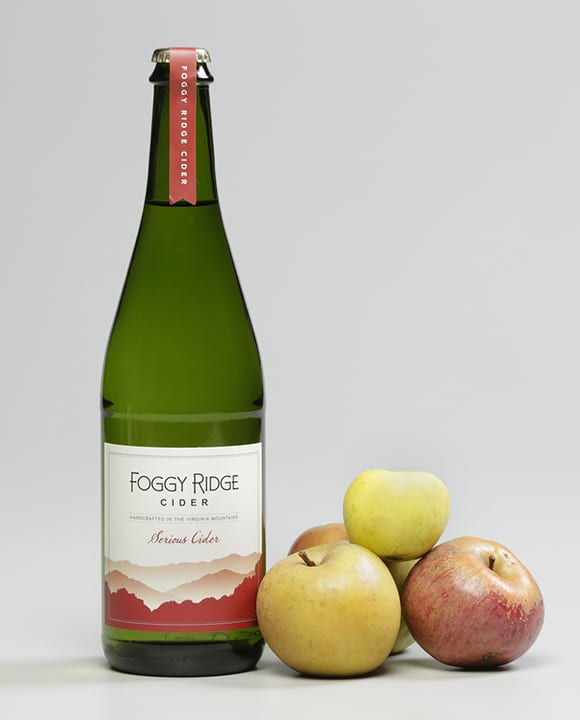 Foggy Ridge Serious Cider.