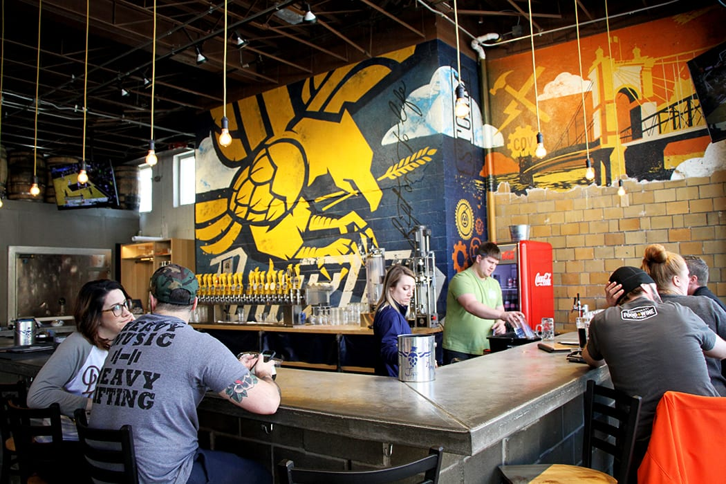 Braxton Brewing is located in Covington, Kentucky, but it's just a short drive over the Ohio River, so it's worth checking out when in Cincinnati.