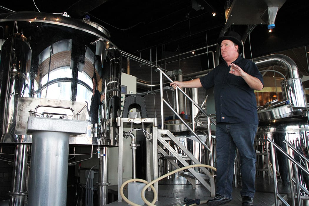 Beer Baron Gregory Hardman runs operations at Moerlein Brewing, one of the city's oldest breweries.