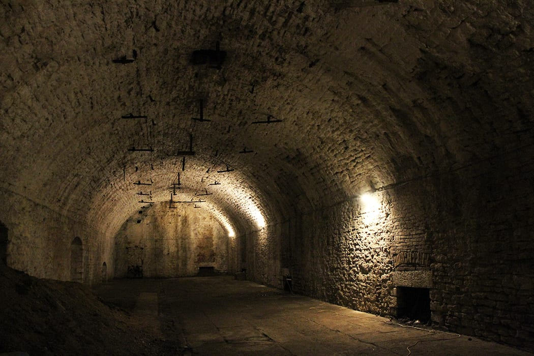 Tunnels underneath the streets of Cincinnati were used in the 1800s to keep lagers cold before refrigeration technology arrived.